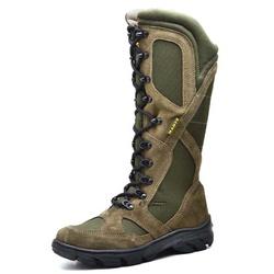 BOTA COTURNO MILITAR PARA CAÇA E PESCA MUSGO - Top Franca Shoes | Calçados confortáveis em Couro
