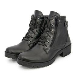 Bota Coturno Feminino Top Franca Shoes Preto - Top Franca Shoes   Calçados confortáveis em Couro