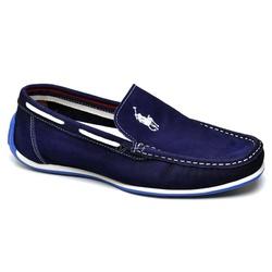 Sapato Casual Masculino Mocassim Docksider Couro P... - Top Franca Shoes | Calçados confortáveis em Couro