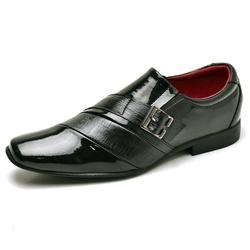 Sapato Social Masculino Top Franca Shoes Verniz Pr... - Top Franca Shoes   Calçados confortáveis em Couro