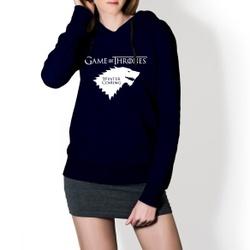 Moletom Feminino Game Of Thrones - Marinho - Top Franca Shoes | Calçados confortáveis em Couro