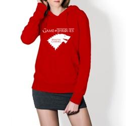 Moletom Feminino Game Of Thrones - Vermelho - Top Franca Shoes   Calçados confortáveis em Couro