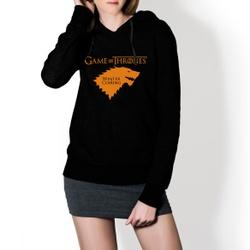 Moletom Feminino Game Of Thrones - Preto e Dourado - Top Franca Shoes | Calçados confortáveis em Couro