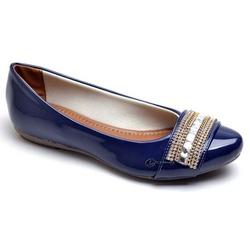 Sapatilha Feminina Confortável Com Verniz e Detalh... - Diconfort Calçados | Calçados confortáveis e anatômicos