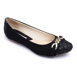 Sapatilha Feminina Confortável Com Bridão e Verniz... - Diconfort Calçados | Calçados confortáveis e anatômicos