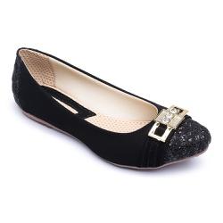 Sapatilha Feminina Confortável Com Metal e Detalhe... - Diconfort Calçados | Calçados confortáveis e anatômicos