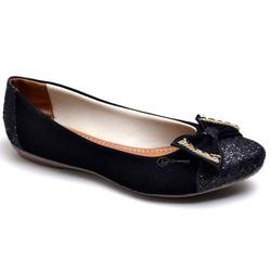 Sapatilha Feminina Confortável Com Laço e Detalhe ... - Top Franca Shoes | Calçados confortáveis em Couro