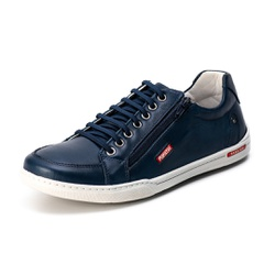 Sapatênis Casual Confort Top Franca Shoes Marinho - Top Franca Shoes | Calçados confortáveis em Couro