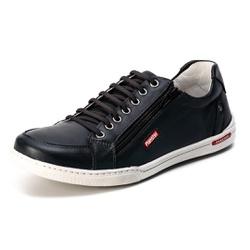 Sapatênis Casual Confort Top Franca Shoes Preto - Top Franca Shoes   Calçados confortáveis em Couro