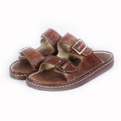 Sandália Chinelo Birken Conforto Anatomico Ortopéd... - Top Franca Shoes | Calçados confortáveis em Couro