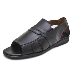 Sandália Chinelo Franciscano Top Franca Shoes Pret... - Top Franca Shoes | Calçados confortáveis em Couro