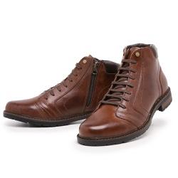 Bota Coturno Top Franca Shoes Whisk - Top Franca Shoes | Calçados confortáveis em Couro
