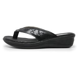 Sandália Chinelo de Dedo Conforto Anatomico Ortopé... - Top Franca Shoes | Calçados confortáveis em Couro