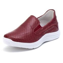 Tênis Sapatenis Slip Top Franca Shoes Bordo - Top Franca Shoes | Calçados confortáveis em Couro