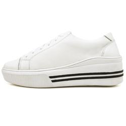 Sapatênis Casual Feminino Top Franca Shoes Branco - Top Franca Shoes | Calçados confortáveis em Couro