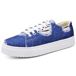 Tenis Sapatenis Top Franca Shoes jeans - Top Franca Shoes | Calçados confortáveis em Couro