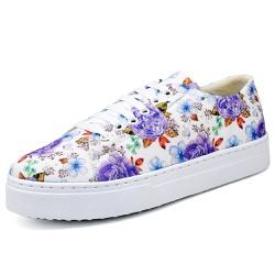 Tenis Sapatenis Top Franca Shoes Floral - Top Franca Shoes | Calçados confortáveis em Couro