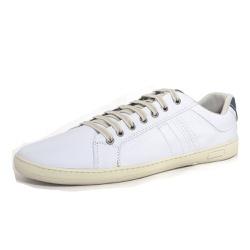 Sapatênis Tênis Masculino Top Franca Shoes Branco - Top Franca Shoes | Calçados confortáveis em Couro