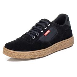 Tênis Sapatênis Casual Top Franca Shoes Preto - Diconfort Calçados | Calçados confortáveis e anatômicos