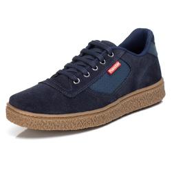 Tênis Sapatênis Casual Top Franca Shoes Azul - Top Franca Shoes | Calçados confortáveis em Couro