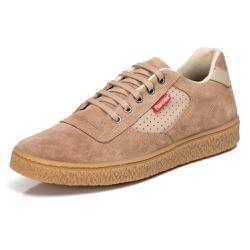 Tênis Sapatênis Casual Top Franca Shoes Castor - Top Franca Shoes | Calçados confortáveis em Couro