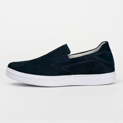 Tênis Sapatênis Slip Casual Top Franca Shoes Azul - Top Franca Shoes | Calçados confortáveis em Couro