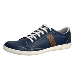 Sapatênis Tênis Masculino Top Franca Shoes Azul - Top Franca Shoes | Calçados confortáveis em Couro