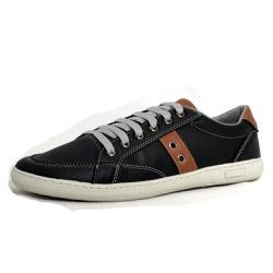 Sapatênis Tênis Masculino Top Franca Shoes Preto - Top Franca Shoes | Calçados confortáveis em Couro