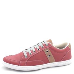 Sapatênis Tênis Masculino Top Franca Shoes Vinho - Top Franca Shoes | Calçados confortáveis em Couro