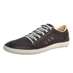 Sapatênis Tênis Masculino Top Franca Shoes Café - Top Franca Shoes   Calçados confortáveis em Couro