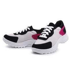 Tênis Feminino Chunky Casual Top Franca Shoes Bran... - Top Franca Shoes   Calçados confortáveis em Couro