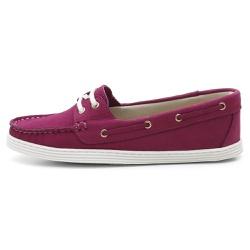 Sider Mocassim Feminino Top Franca Shoes Fuscia - Top Franca Shoes | Calçados confortáveis em Couro