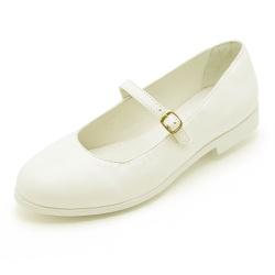 Sapato Sapatilha Boneca Top Franca Shoes Branco - Top Franca Shoes | Calçados confortáveis em Couro