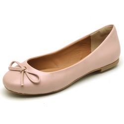 Sapatilha Feminina Bico Redondo Top Franca Shoes R... - Top Franca Shoes | Calçados confortáveis em Couro