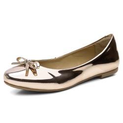Sapatilha Feminina Bico Redondo Top Franca Shoes C... - Top Franca Shoes | Calçados confortáveis em Couro