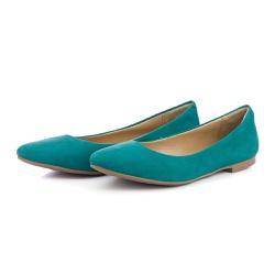 Sapatilha Feminina Bico Fino Turqueza - Diconfort Calçados | Calçados confortáveis e anatômicos