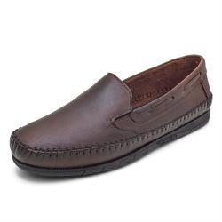 Sapatilha Mocassin Masculino Top Franca Shoes Conh... - Top Franca Shoes | Calçados confortáveis em Couro