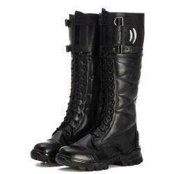 BOTA MILITAR COTURNO POLICIA RODOVIARIA FEDERAL OF... - Top Franca Shoes | Calçados confortáveis em Couro