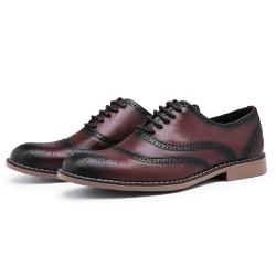 Sapato Social Brogue Top Franca Shoes Café - Top Franca Shoes   Calçados confortáveis em Couro