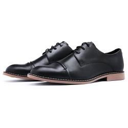 Sapato Social Oxford Top Franca Shoes Preto - Top Franca Shoes | Calçados confortáveis em Couro