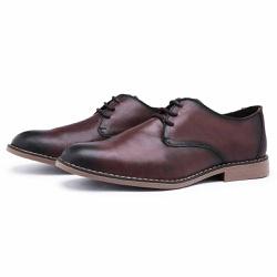 Sapato Social Derby Top Franca Shoes Café - Top Franca Shoes | Calçados confortáveis em Couro