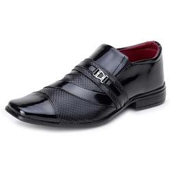Sapato Social Verniz Top Franca Shoes Preto - Top Franca Shoes | Calçados confortáveis em Couro