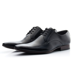 Sapato Social Masculino Estilo Italiano De Amarrar... - Top Franca Shoes   Calçados confortáveis em Couro