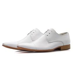 Sapato Social Masculino Estilo Italiano De Amarrar... - Top Franca Shoes | Calçados confortáveis em Couro