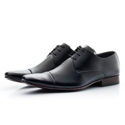 Sapato Social Masculino Couro Legítimo De Amarrar - Top Franca Shoes   Calçados confortáveis em Couro