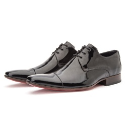 Sapato Social Masculino Derby Couro Legítimo De Am... - Top Franca Shoes | Calçados confortáveis em Couro