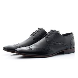 Sapato Masculino De Amarrar Oxford Clássico Solado... - Top Franca Shoes   Calçados confortáveis em Couro
