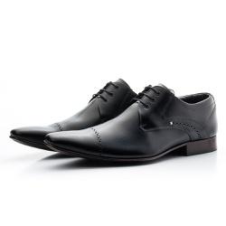 Sapato Social Estilo Italiano Em Couro Legítimo Co... - Top Franca Shoes | Calçados confortáveis em Couro