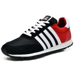 Tênis Sport Fit Top Franca Shoes Preto e Vermelho - Diconfort Calçados | Calçados confortáveis e anatômicos