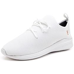 Tênis Masculino Esporte Fit Snap Shoes Branco - Top Franca Shoes | Calçados confortáveis em Couro